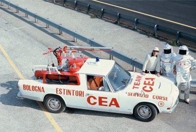 La prima auto antincendio marchiata CEA