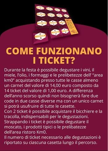 Festa del Moscato di Scanzo ticket