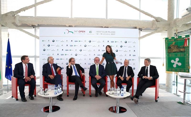 Open d'Italia golf 2017 Ilaria D'Amico