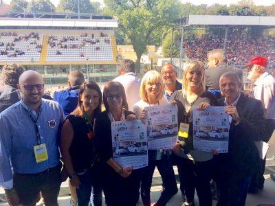 Il raduno delle 500 in Brianza è stato presentato all'Autodromo in occasione del Gran Premio