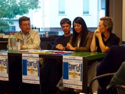 Il tavolo dei relatori alla presentazione