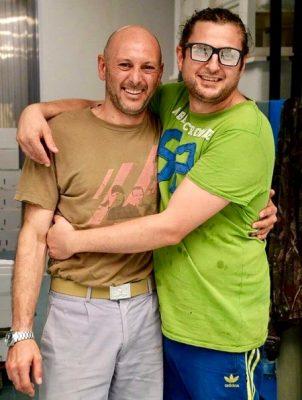 I fratelli Alex e Robj Vagnoli protagonisti insieme a Marina Carlà del successo di AMO Il Mare a Milano