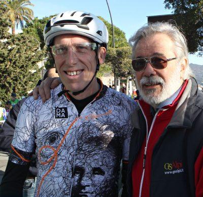 Don Agostino Frasson, Vittorio Mevio, patron GS Alpi