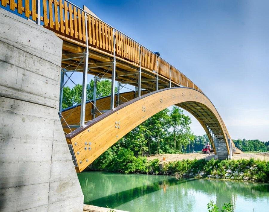 Parco Oglio Nord: ponte ciclabile tra Brescia e Cremona