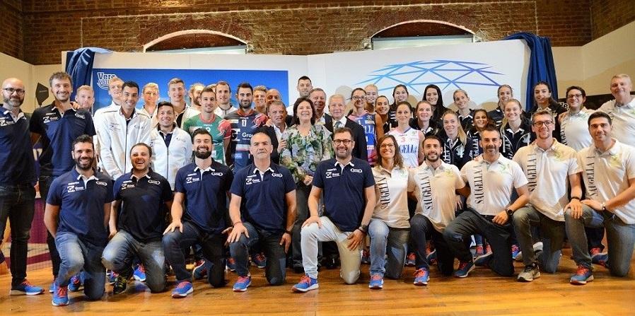 Vero Volley presentazione 2017