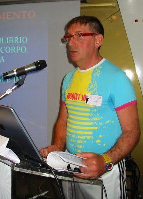 Carlo Annoni a un convegno nazionale FIRP