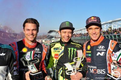I vincitori del Monza Rally Show 2017