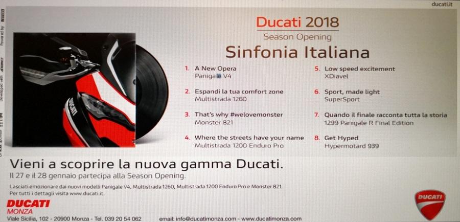Ducati Monza Season Opening 2018
