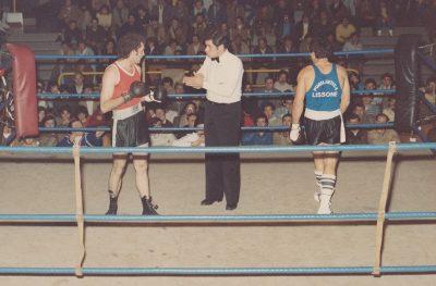 Nick è stato anche arbitro di boxe