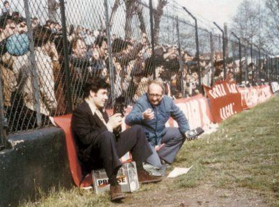 Ai bordi del vecchio Stadio Sada negli Anni Settanta