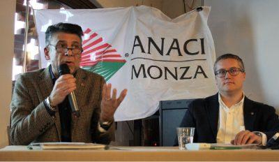 Il neo presidente ANACI Monza e Brianza Marco Bonato (a destra) con il presidente uscente Renato Greca