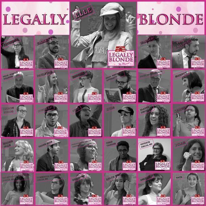 I protagonisti di Legally Blonde