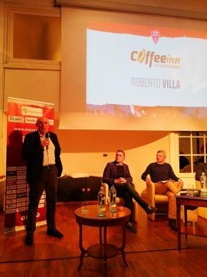 Roberto Villa, storico tifoso del Monza, scende in campo con la Coffee Inn