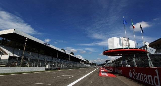 Monza ENI Circuit rettilineo partenza