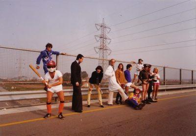 I ragazzi di RV Radio all'inizio degli Anni 80