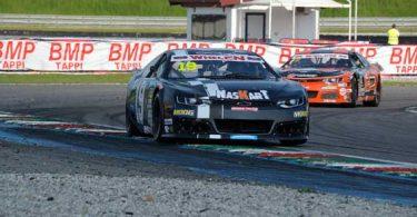 Alessandro Brigatti in gara